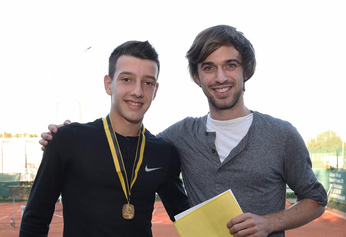 Clubmeister U14: Jasin Jakupi – er ist auch Sieger bei den Aktiven