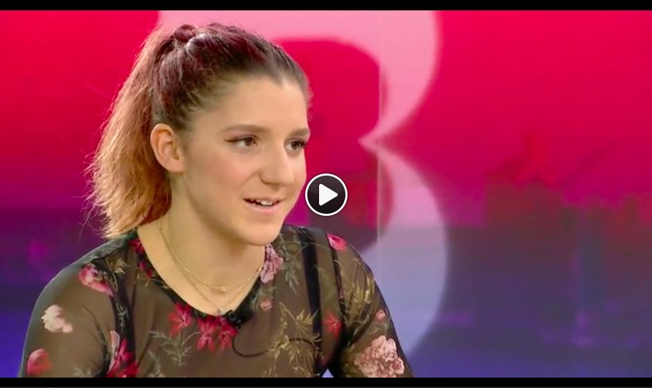 Rebekka Masarova bei Telebasel, Januar 2017
