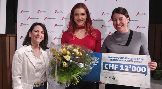 Rebeka Masarova gewinnt den Schweizer Nachwuchspreis 2016