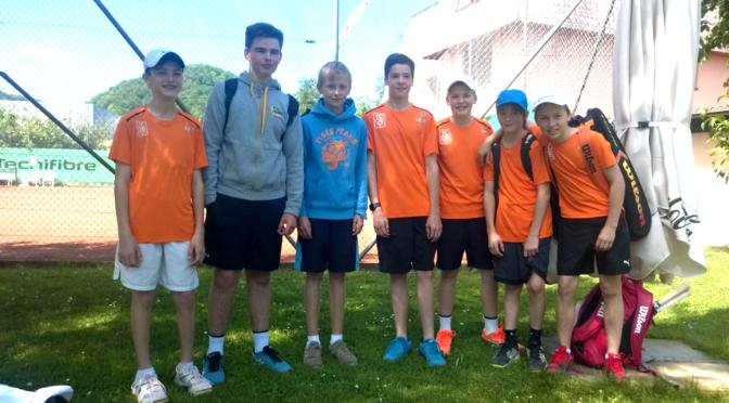 Starke TCOB-Junioren gegen  Haugraben/Bättwil: 6:0