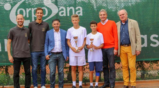 U14 Open: Grossartige Tennis-Woche mit einem TCOB-Sieger Jan Sebesta