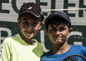 links Sieger Matteo Voillat, rechts Zweiter Arian Hasas
