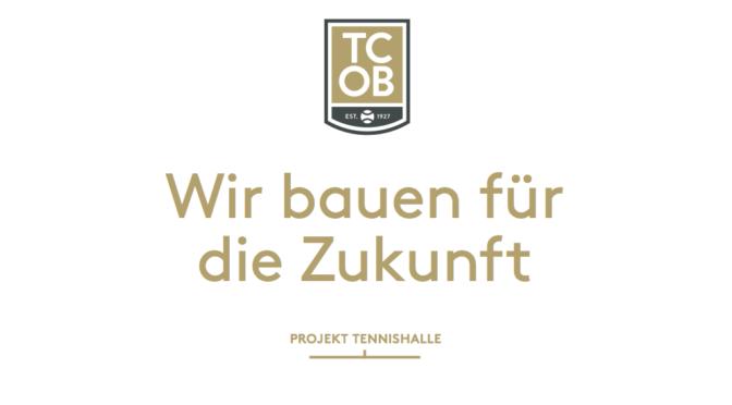 Projekt Tennishalle – die Broschüre