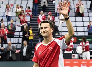 Marco Chiudinelli wird sich an den Swiss Indoors Basel vom Profi-Sport verabschieden.