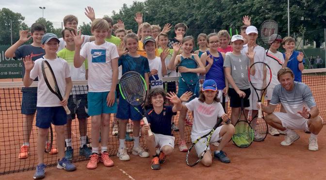 Interclub-Vorbereitung: Junioren trainieren das Doppel-Spiel