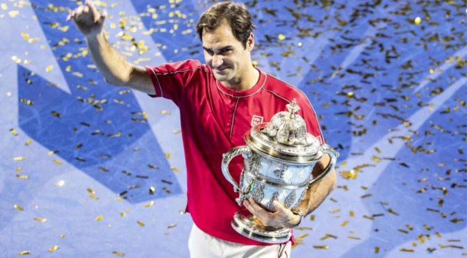 Grandioser Roger Federer gewinnt zum 10. Mal die Swiss Indoors